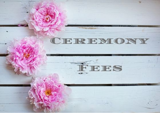 Ceremony Fees (2)