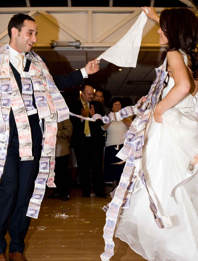 Greek Wedding Money Dance
