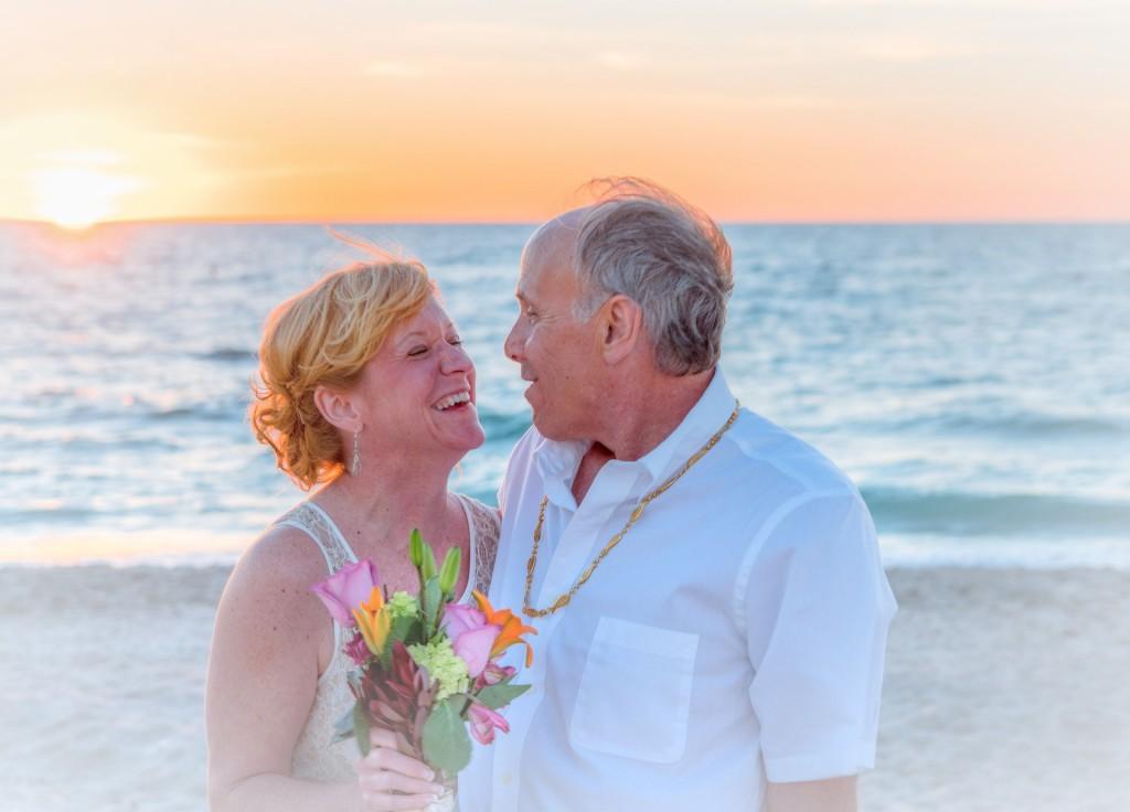 beach-wedding- vow renewal