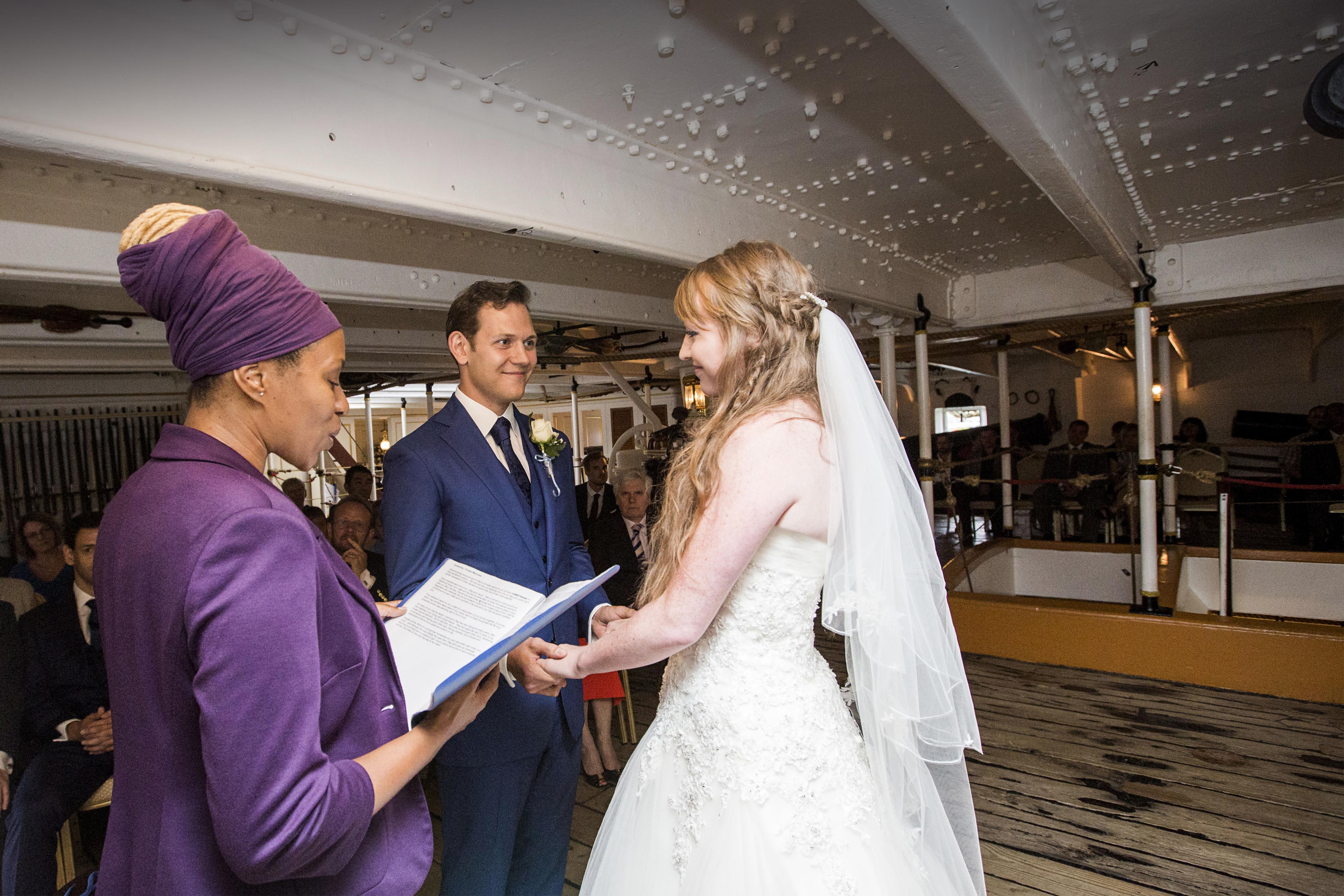 Ship wedding