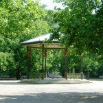 bandstand outdoor ceremony