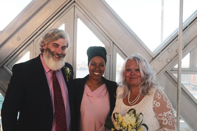 Tower Bridge Symbolic Wedding