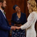 Celebrant Wedding Stoke Newington Town Hall by Rebecca