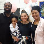 Family with Celebrant 1